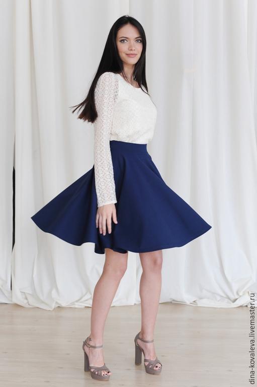 Фото юбки солнце выше колена