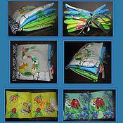 """Куклы и игрушки ручной работы. Ярмарка Мастеров - ручная работа развивающая книжка-малышка """"5 отличий"""". Handmade."""