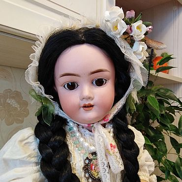 Куклы и игрушки ручной работы. Ярмарка Мастеров - ручная работа Антикварная кукла KLEY & HAHN 250 Walkure. Handmade.