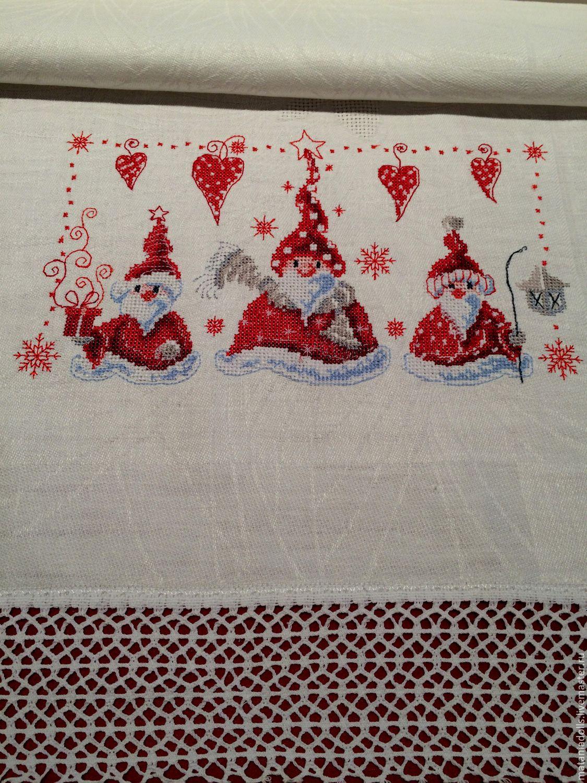 Вышивка скатерти на заказ коллекция схем - Промвышивка 72