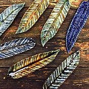 handmade. Livemaster - original item Feather - Incense burner. Handmade.