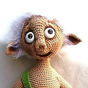 Куклы и игрушки ручной работы. Ярмарка Мастеров - ручная работа Вязаный эльф Одуванчик. Handmade.