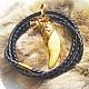 Подарки для мужчин, ручной работы. Клык волка в золоте 24 карата. bear-wolf. Интернет-магазин Ярмарка Мастеров. клык