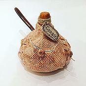 Для дома и интерьера ручной работы. Ярмарка Мастеров - ручная работа Мешочек сахара / соли сахарница / солонка керамическая ручной работы. Handmade.