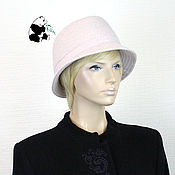 Аксессуары handmade. Livemaster - original item Stylish youth hat
