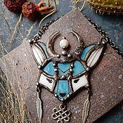 Украшения handmade. Livemaster - original item Charity Blue Fox (p-005-03). Handmade.