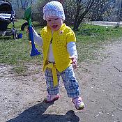 Одежда ручной работы. Ярмарка Мастеров - ручная работа Жилетка детская. Handmade.
