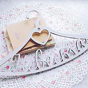 """Свадебный салон ручной работы. Ярмарка Мастеров - ручная работа Вешалка для фотосессии """"Невеста"""". Handmade."""