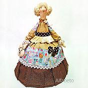Посуда ручной работы. Ярмарка Мастеров - ручная работа Кукла грелка для чайника. Handmade.