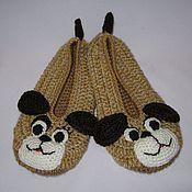 """Обувь ручной работы. Ярмарка Мастеров - ручная работа Тапочки """"Подружки"""". Handmade."""
