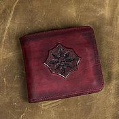 Сумки и аксессуары handmade. Livemaster - original item Man leather wallet `Chaos Star`. Handmade.
