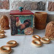 Подарки к праздникам ручной работы. Ярмарка Мастеров - ручная работа Короб для кухни. Handmade.