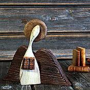 handmade. Livemaster - original item Guardian angel of knowledge. Author`s work made of various types of wood.. Handmade.