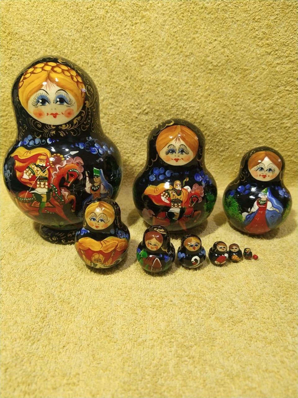 """Матрёшка """"Палех"""", Именные сувениры, Алексин,  Фото №1"""