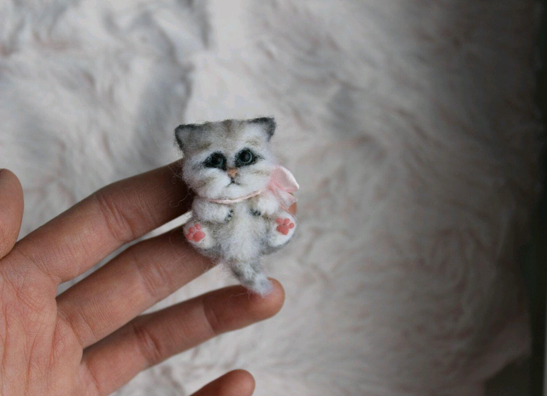 Мини брошь Kitty, Мягкие игрушки, Самара,  Фото №1