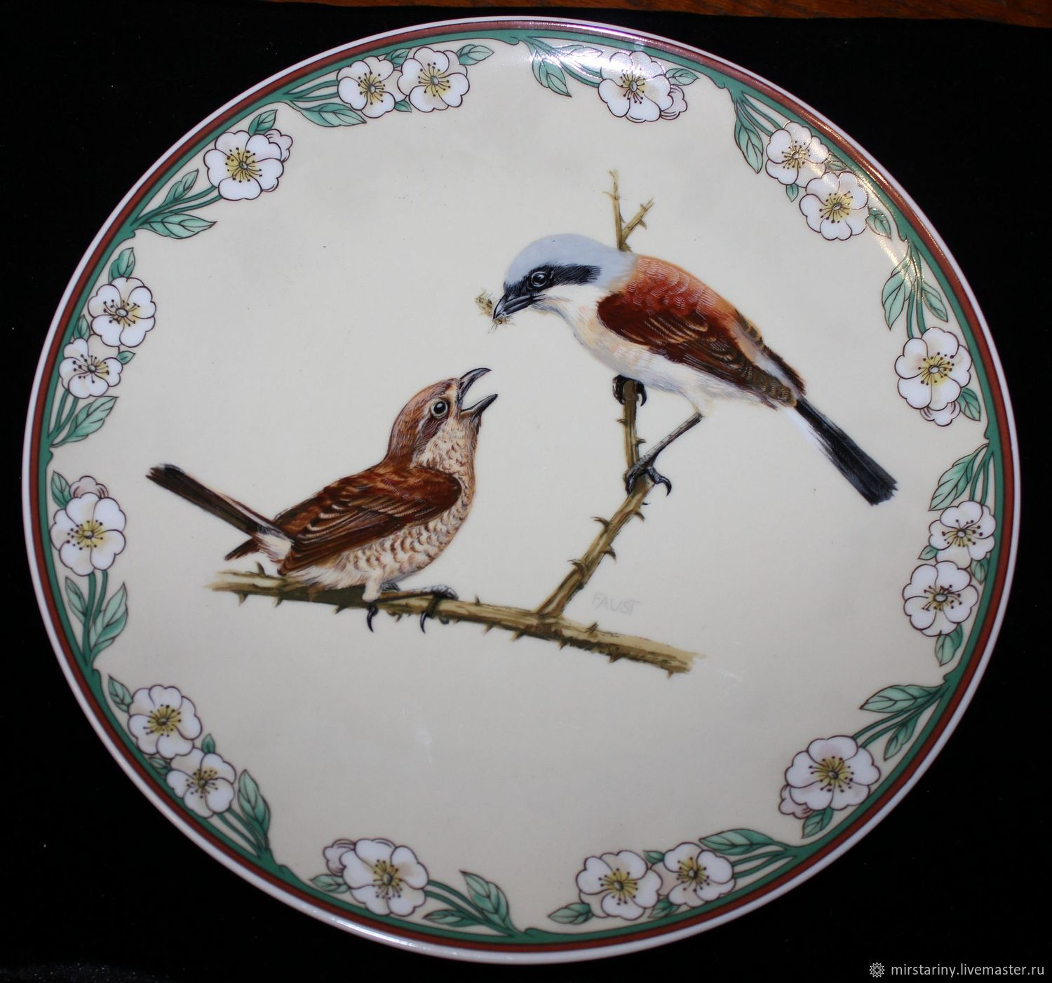 Gift plate 'Merry Christmas', from Villeroy Boch, Vintage interior, Moscow,  Фото №1