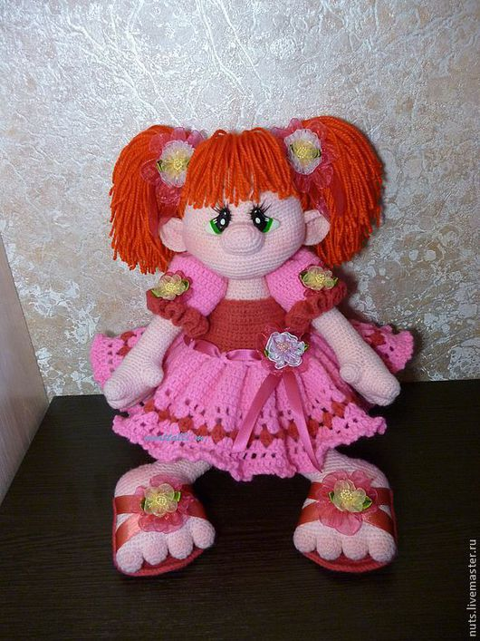 Человечки ручной работы. Ярмарка Мастеров - ручная работа. Купить кукла Принцесска Карамелька. Handmade. Кукла, сувениры и подарки, с бантиком
