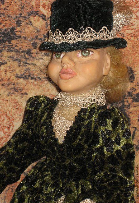 Коллекционные куклы ручной работы. Ярмарка Мастеров - ручная работа. Купить Мадам Ля Гуш  дэ Жабон. Handmade. Кукла
