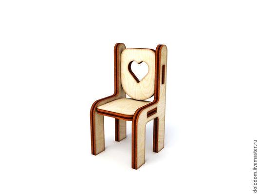 Куклы и игрушки ручной работы. Ярмарка Мастеров - ручная работа. Купить КМ-0000021 Кукольный стул. Handmade. Заготовки для творчества