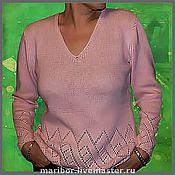 Одежда ручной работы. Ярмарка Мастеров - ручная работа Джемпер розовый. Авторская работа.. Handmade.