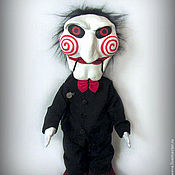 Куклы и игрушки ручной работы. Ярмарка Мастеров - ручная работа Кукла Билли из фильма Пила SAW. Handmade.