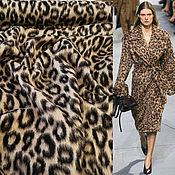 Ткани ручной работы. Ярмарка Мастеров - ручная работа Пальтовая Versace. Handmade.