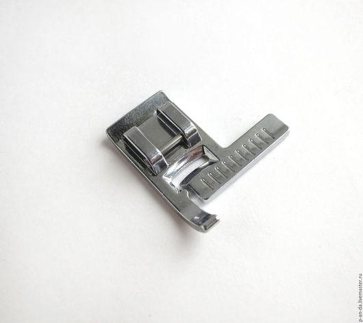Шитье ручной работы. Ярмарка Мастеров - ручная работа. Купить Лапка с линейкой для ровной отстрочки для швейной машины. Handmade. Лапка