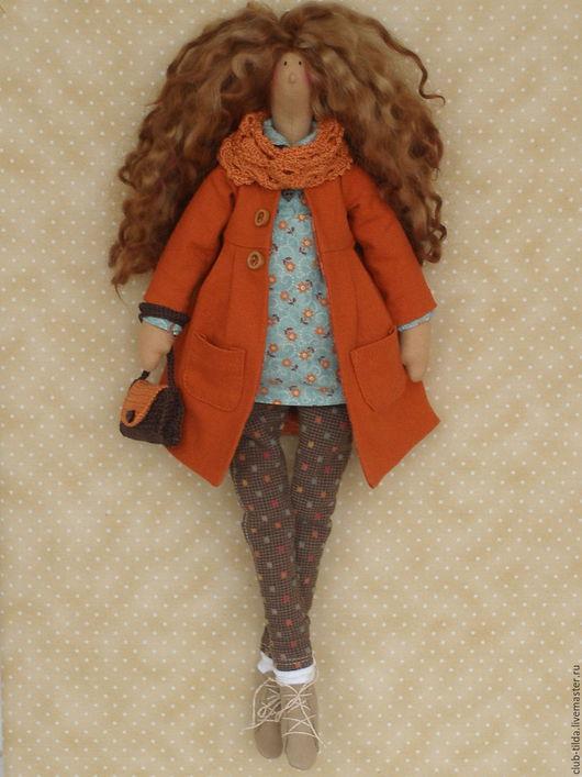 """Куклы Тильды ручной работы. Ярмарка Мастеров - ручная работа. Купить Кукла в стиле Тильда """"Осенняя"""". Handmade. Кукла"""