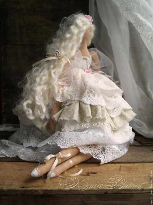 Куклы Тильды ручной работы. Ярмарка Мастеров - ручная работа. Купить Анджел. Коллекционная кукла. Handmade. Оливковый, кукла, куколка