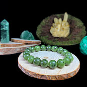 Украшения handmade. Livemaster - original item Bracelet made of natural Ural Jade. Handmade.