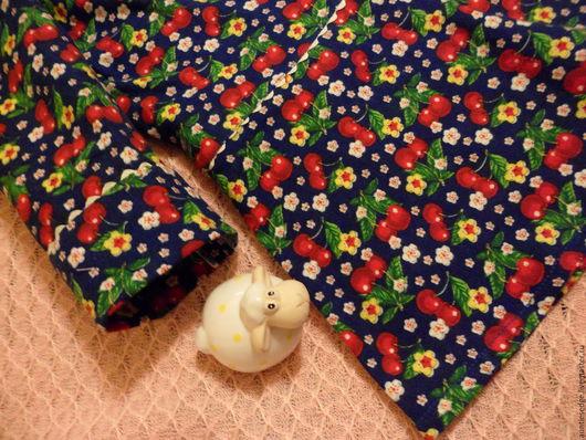 """Одежда для девочек, ручной работы. Ярмарка Мастеров - ручная работа. Купить Платье для девочки """"Вишневый сон"""". Handmade. Тёмно-синий"""
