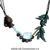 Украшения handmade. Livemaster - original item Choker of leather and quartz