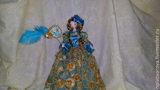 """Коллекционные куклы ручной работы. Ярмарка Мастеров - ручная работа. Купить Кукла """"Венеция"""". Handmade. Морская волна, интерьерная кукла"""