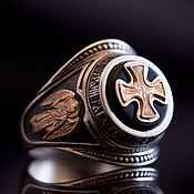 Украшения handmade. Livemaster - original item Ring: ORTHODOX RING