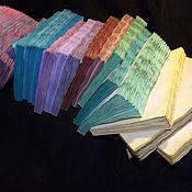 Бумага ручной работы. Ярмарка Мастеров - ручная работа Бумага для блокнота ручной работы. Сшитый блок. Бумага для блокнота.. Handmade.