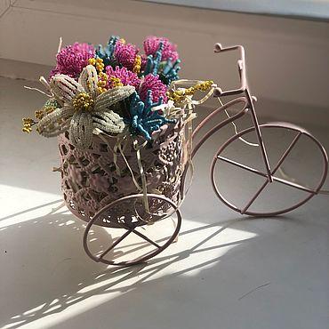 Цветы и флористика. Ярмарка Мастеров - ручная работа Цветы из бисера. Handmade.