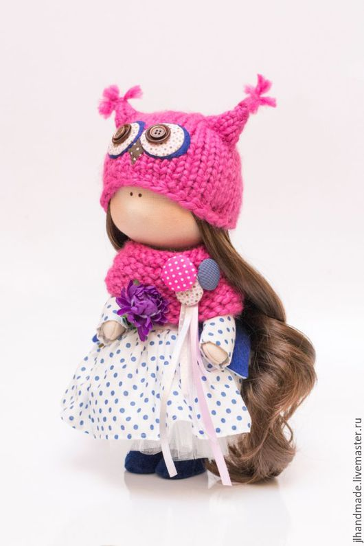 Коллекционные куклы ручной работы. Интерьерная кукла. Совушка. Ярмарка Мастеров. Лобанова Юлия.