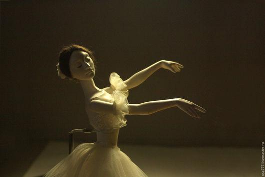 Авторская шарнирная кукла ЖИЗЕЛЬ из новой коллекции `БАЛЕТ`. Bjd