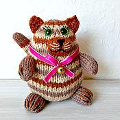 Куклы и игрушки ручной работы. Ярмарка Мастеров - ручная работа Кошка Кенди, игрушка интерьерная, подарок ребёнку, сувенир на удачу. Handmade.