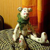 Куклы и игрушки ручной работы. Ярмарка Мастеров - ручная работа Мятный мишка Ромас. Handmade.