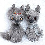 Куклы и игрушки ручной работы. Ярмарка Мастеров - ручная работа Волчья пара. Handmade.