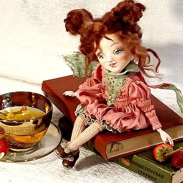 Куклы и игрушки ручной работы. Ярмарка Мастеров - ручная работа Кукла ангелуша.. Handmade.