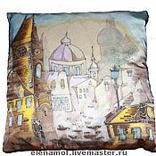 Для дома и интерьера ручной работы. Ярмарка Мастеров - ручная работа Подушка Прага. Handmade.
