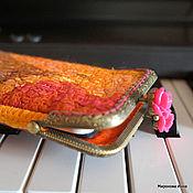 Сумки и аксессуары ручной работы. Ярмарка Мастеров - ручная работа Футляр для телефона или очков войлочный. Handmade.
