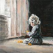 Для дома и интерьера handmade. Livemaster - original item Painting Flower oil on canvas. Handmade.