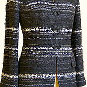 Одежда ручной работы. Ярмарка Мастеров - ручная работа Жакет с застежкой из бисера клевантэ. Handmade.