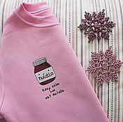"""Одежда ручной работы. Ярмарка Мастеров - ручная работа Свитшот """"NUTELLA"""". Handmade."""