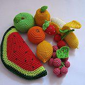 Куклы и игрушки ручной работы. Ярмарка Мастеров - ручная работа Вязаные фрукты. Handmade.