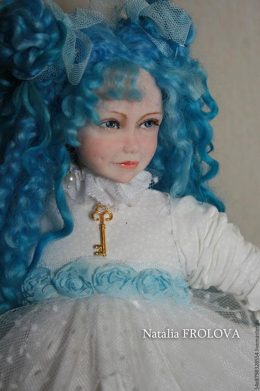 Коллекционные куклы ручной работы. Ярмарка Мастеров - ручная работа. Купить ...Подружка Пьеро..... Handmade. Комбинированный, подарок, мохер