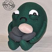 Куклы и игрушки ручной работы. Ярмарка Мастеров - ручная работа Мягкая игрушка The Awkward Yeti Я сделяль. Handmade.